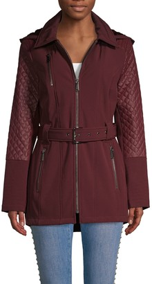 MICHAEL Michael Kors Quilted Hooded Jacket