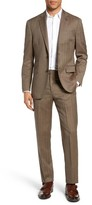 Michael Bastian Men's Classic Fit Herringbone Wool Suit