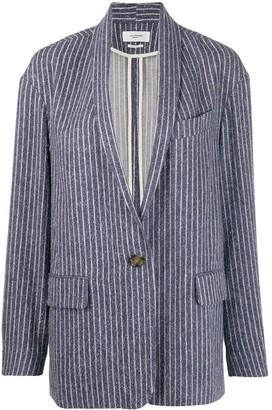 Etoile Isabel Marant Piety striped blazer