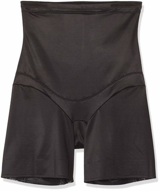 Miraclesuit Women's Panty Gainant Taille Extra Haute Noir-Flexible Fit Thigh Shapewear