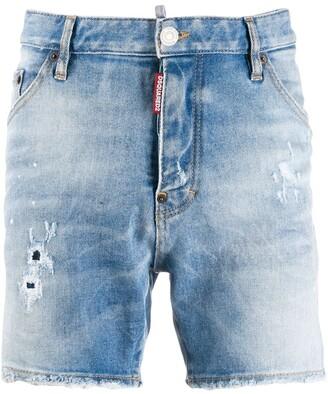 DSQUARED2 Patch Pocket Denim Shorts