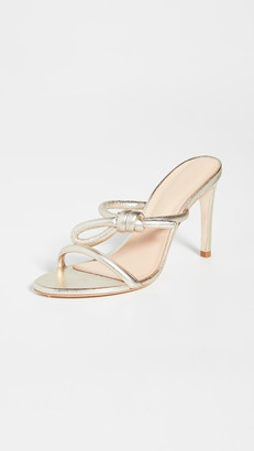 Ulla Johnson Alba Knotted Double Band Slides
