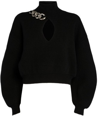 Alexander Wang Rollneck Chain Sweater