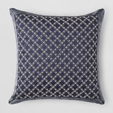 Hudson Park Beaded Lattice Pillow