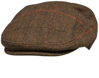 French Connection Mens Tweed Cap Tweed 6