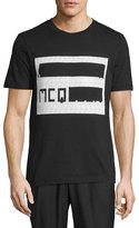McQ by Alexander McQueen Cassette Logo Graphic Short-Sleeve T-Shirt
