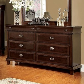 Hokku Designs Tolsi 8 Drawer Double Dresser with Mirror