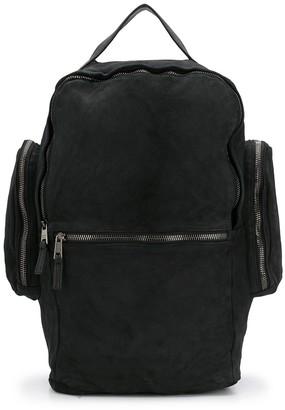 Giorgio Brato Zipped Pocket Backpack