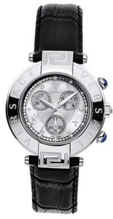 Nice New Womens Diamond Analog Quartz Pink Black Date Sapphire White Ceramic Watch