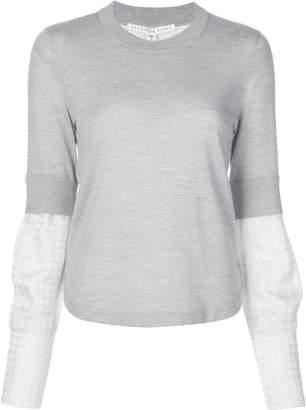 Veronica Beard layered sleeve jumper