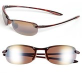 Maui Jim Men's 'Makaha - Polarizedplus2' 63Mm Sunglasses - Tortoise