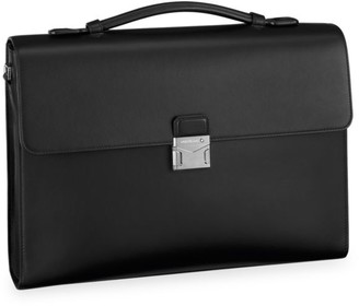 Montblanc Meisterstuck Urban Single Gusset Leather Briefcase