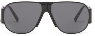 Givenchy Aviator Metal Sunglasses - Womens - Black