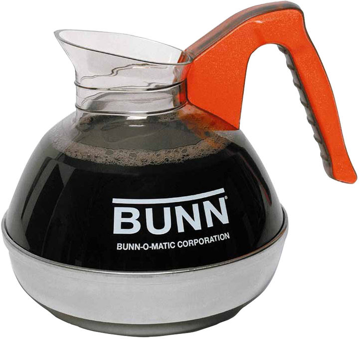 Bunn-O-Matic Easy Pour 12-Cup Decaf Replacement Decanter