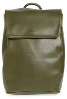 Matt & Nat 'Fabi' Faux Leather Laptop Backpack - Green
