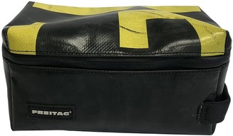 Freitag Black Plastic Clutch bags