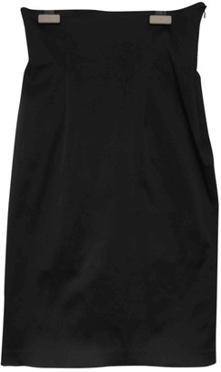 Plein Sud Jeans Black Cotton - elasthane Skirt for Women