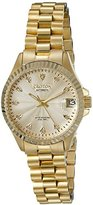 Croton Women's CN207527YLCD HERITAGE Analog Display Quartz Gold Watch
