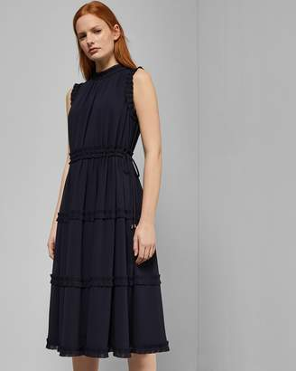 Ted Baker Tie Waist Midi Dress