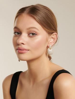 Ever New Hazel Paved Statement Stud Earrings