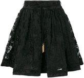 Zimmermann embroidered full mini skirt
