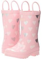 Hatley Polka Dot Hearts Rain Boots (Toddler/Little Kid)