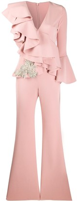 Loulou Ruffled Jumpsuit
