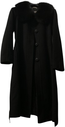 Max Mara Atelier Black Wool Coat for Women