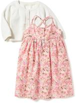 Old Navy 2-Piece Cardi & Dress Set for Baby