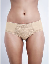 Chantelle Merci jersey and stretch-lace hipster briefs