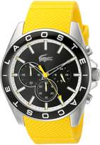 Lacoste Men's 2010852 Westport Analog Display Japanese Quartz Yellow Watch