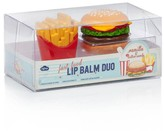 Smallable Burger and Fries Lipbalm - Set of 2