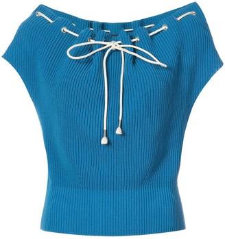 Calvin Klein Drawstring Loose Sweater