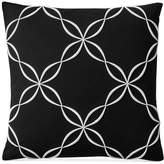 "Charter Club Damask Designs Outline Embroidered 18"" Square Decorative Pillow, Created for Macy's Bedding"