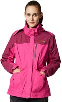 Hengjia Women's 3-in-1 Waterproof Jacket with Linner Outdoor Sporting Windproof Coat US L /Asia Tag 3XL