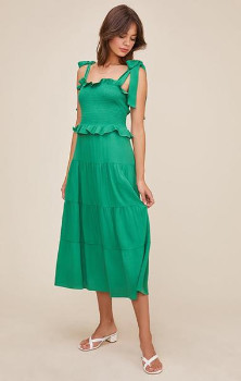 ASTR the Label The Promenade Dress In Green - XS