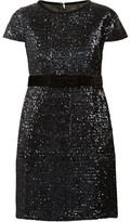 Maje Ketsia Sequined Mini Dress