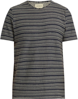 Oliver Spencer Conduit multi-striped cotton-jersey T-shirt