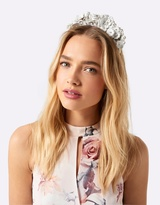 Forever New Chloe PU Flower Fascinator