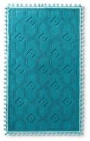 """Pillowfort Woven Bath Mat (20""""x34"""") Blue Ocean"""