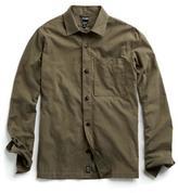 Todd Snyder Corduroy Shirt Jacket in Fatigue
