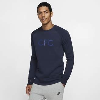 Nike Men's Fleece Crew Chelsea FC