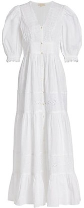 By Ti Mo Memory Lane Cotton Slub Maxi Dress