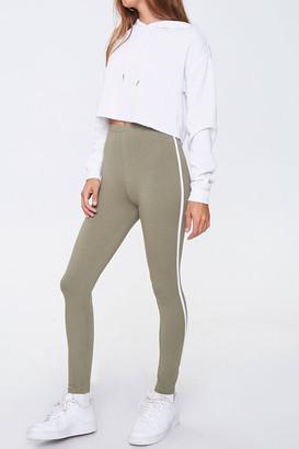 Forever 21 Side-Striped Leggings