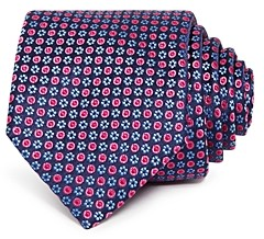 Ted Baker Micro Circle Silk Classic Tie