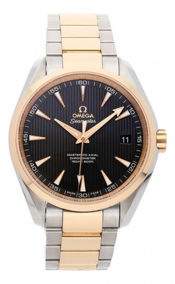 Omega Seamaster Aquaterra Grey gold and steel Watches