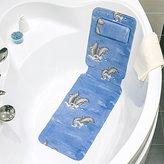 Tattoo Power 4742943018594 PVC Foam Bath Mat, Blue, 33.5 x 5.3 x 15.2 cm