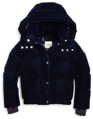 SAM. Unisex Velvet Sydney Puffer Jacket - Big Kid