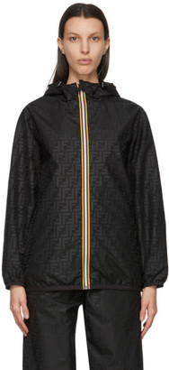Fendi Reversible Black K-Way Edition Forever Jacket