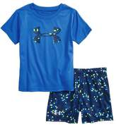 Under Armour Digital Camo Logo HeatGear(R) T-Shirt & Shorts Set